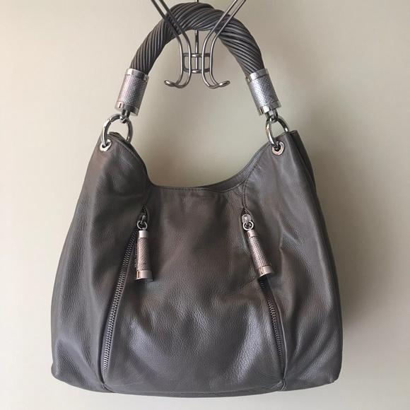 Michael Kors Bags   Tonne Hobo Leather Shoulder Bag Euc   Poshmark 001e946dd6